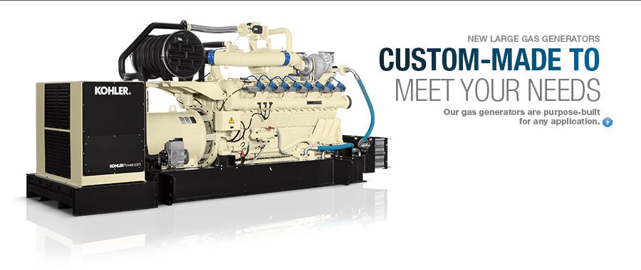 Natural Gas Generators Image